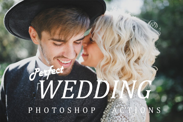 Digital Photoshop Wedding actions