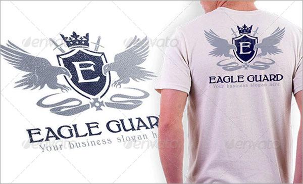 Eagle Guard Letter Crest Logo