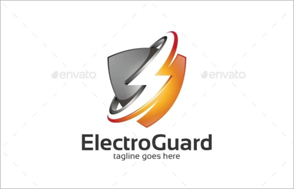 Electro Guard Logo Template Design