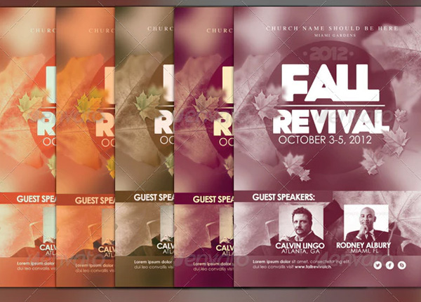 Best-Fall-Revival-Flyer-Templates