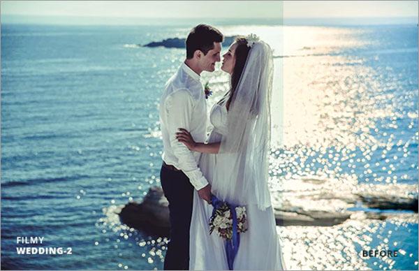 Filmy Wedding Lightroom Presets