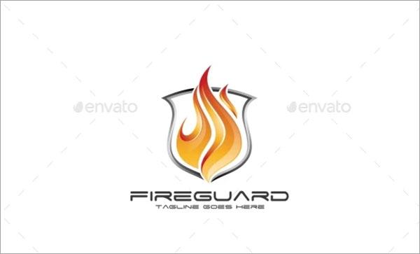 Fire Guard Logo Template