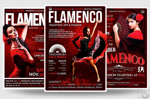 Flamenco and Tango Flyers Bundle