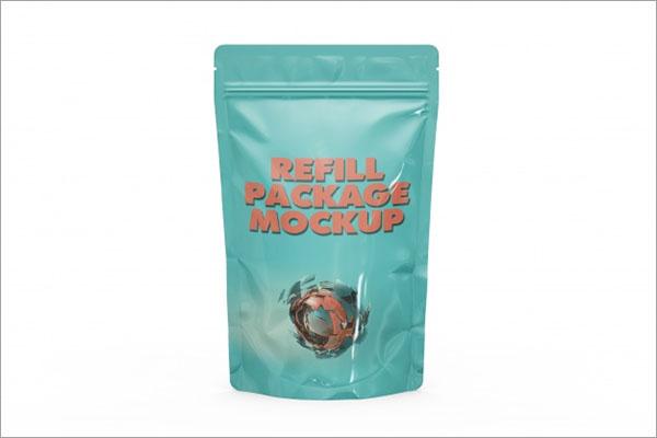 Food Packaging Mockup free PSD