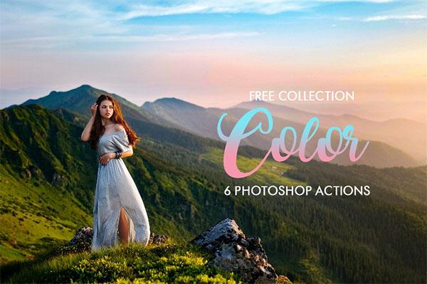 Free Color Pop Photoshop Actions