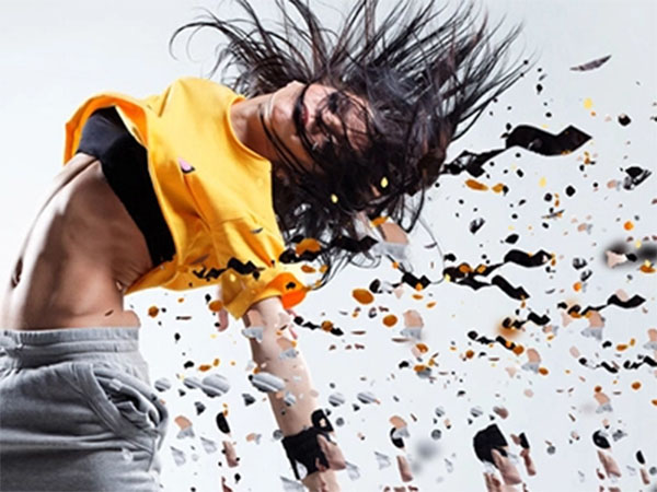 Free Dispersion Shattered Effect Photoshop Action