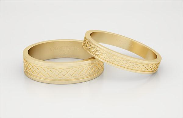 Free Gold Ring Mockup