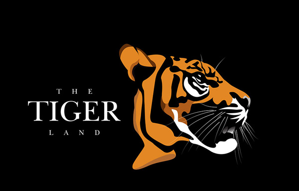 Free Illustration Tiger Logo Design