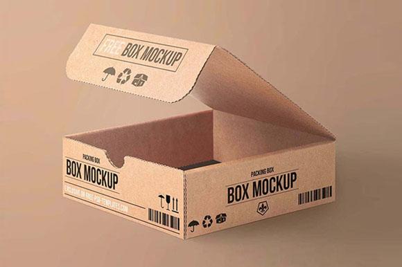 Free PSD Packing Mockups