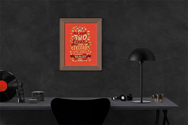 Free Photo Frame and Poster Mockup PSD