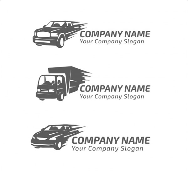 Free Transport Vector Logo