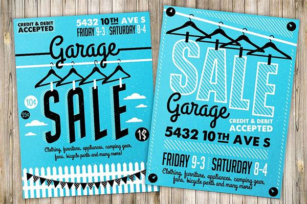 Garage Sale Flyer & Poster Designs