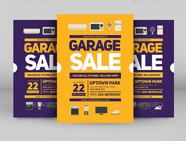 Garage Sale Photoshop Flyer