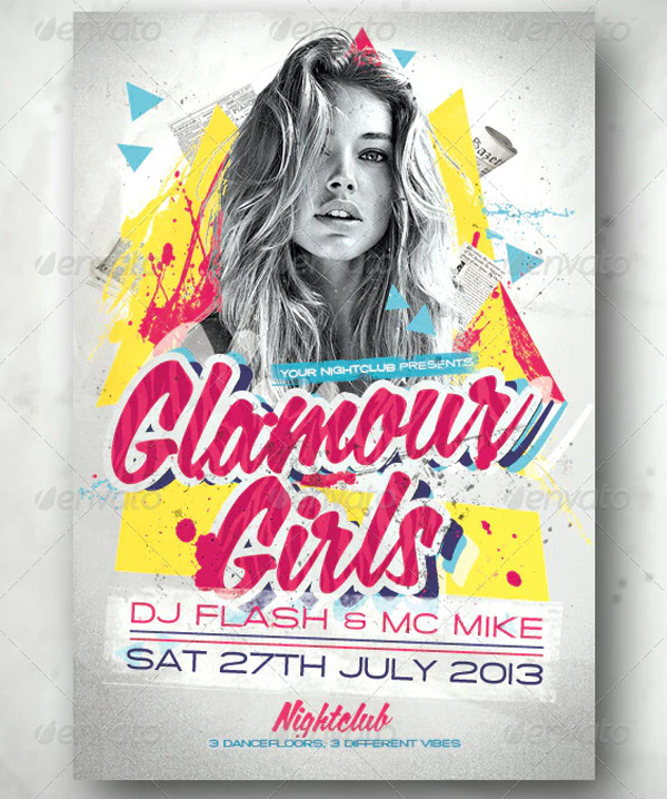 Glamour Girls Flyer