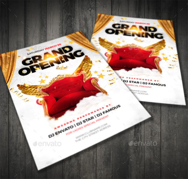 Grand Opening City Flyer