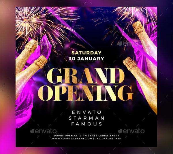Grand Opening Flyer Design