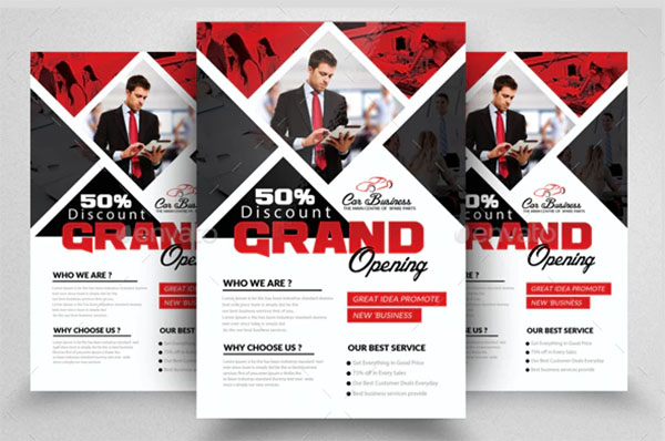 Grand Opening Flyers