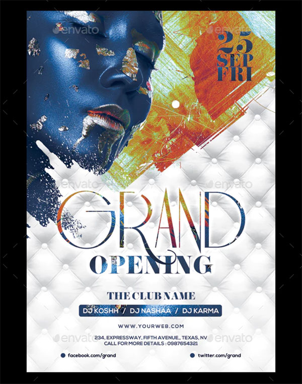 Grand Opening Sexy Flyer
