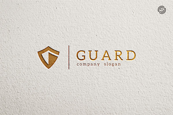 Guard Letter G Logo Template
