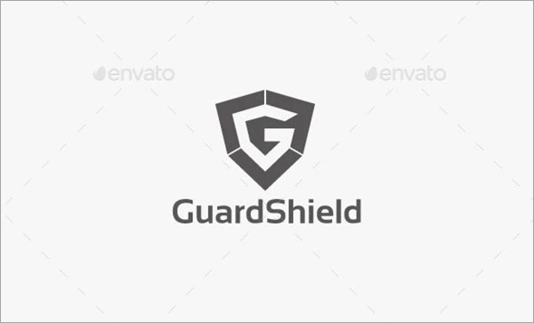 Guard Letter PSD Logo Template