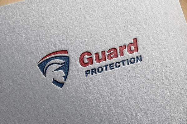 Guard Police & Shield Logo