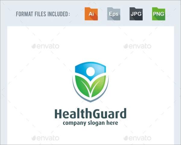 Health Guard Logo Template