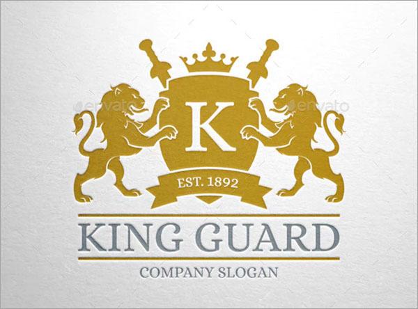 King Guard Logo Template