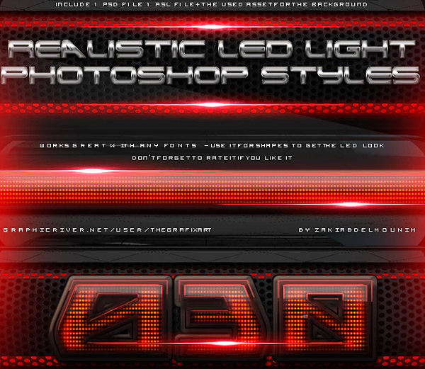 Led Light Layer Styles
