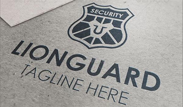 Lion Guard Logo Design