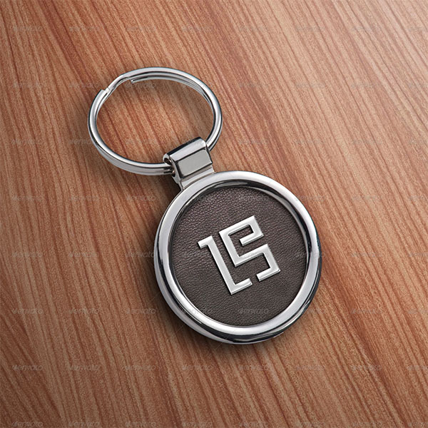 Logo Key Ring Mockups