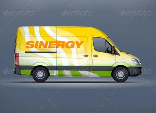 Mock-Up For Van Vehicles