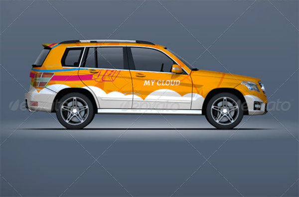 Mock-up For Suv & Off Road Vehicles