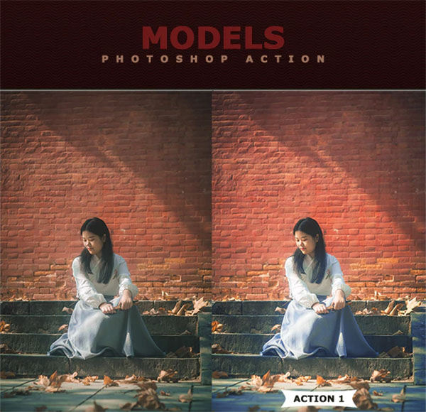 Models Photoshop Actions