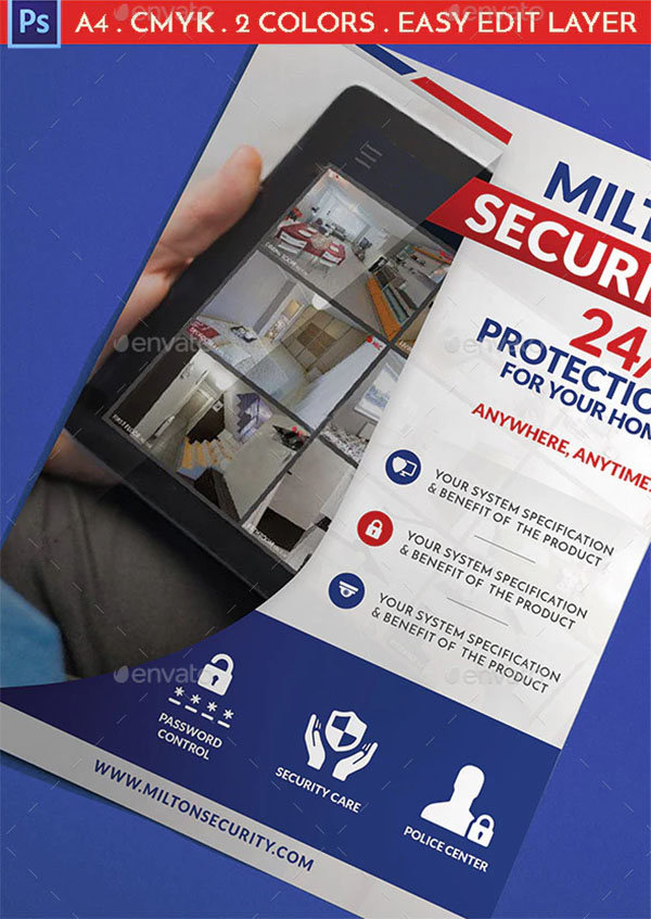 Modern Security Flyer Template