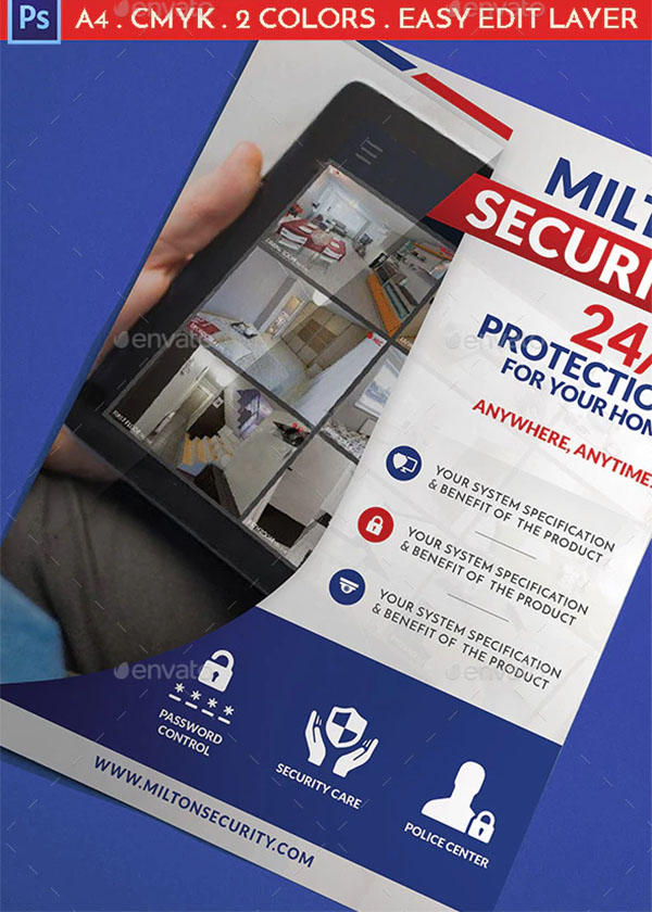 Modern Security Flyer