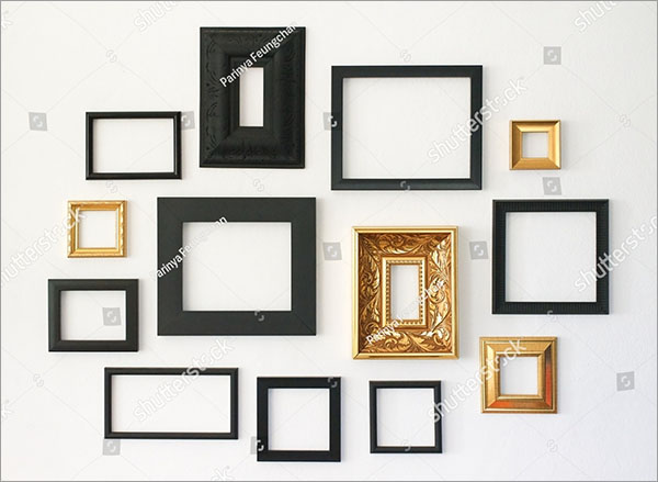 Multiple Picture Frames Template