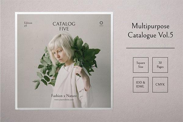 Multipurpose Catalog INDD, PDF Template