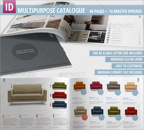 Multipurpose Product Catalogue Design