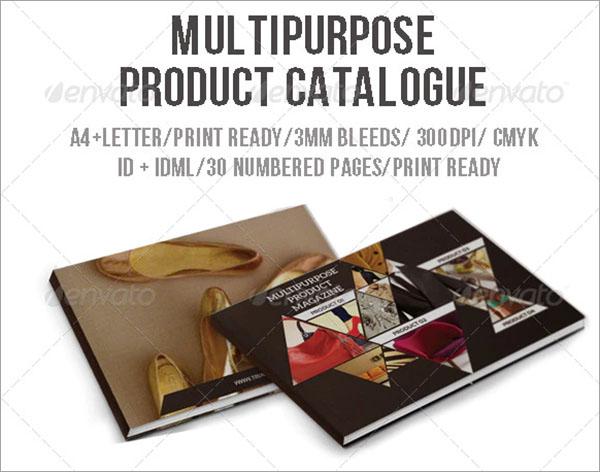 Multipurpose Product Catalogue PSD Design