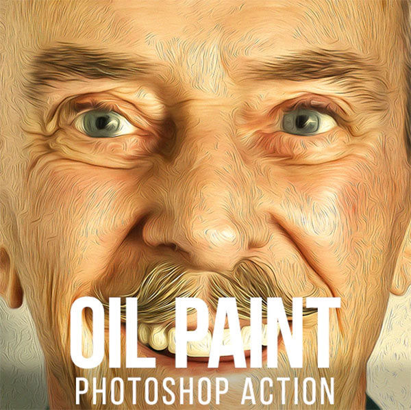 Oil Paint Photoshop Actions