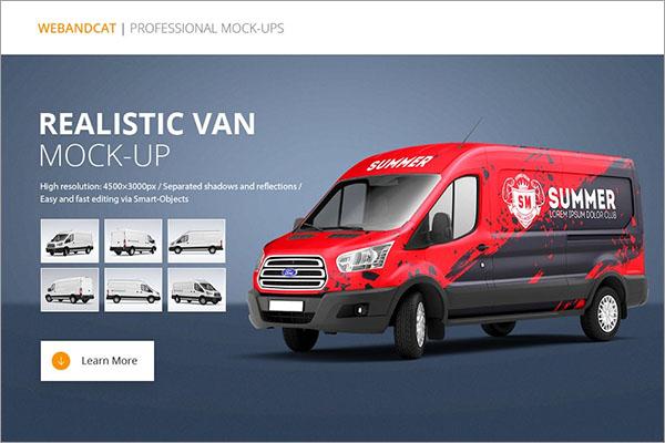PSD Van Mock-Up