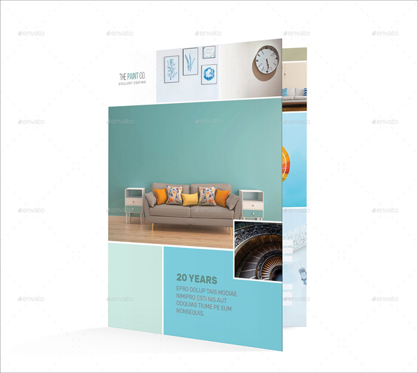 Paint Company Bifold Template