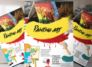 Painting Brochure Templates