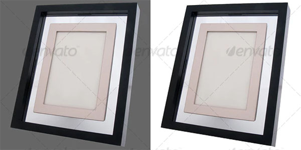 Photo Frame Design PSD Template