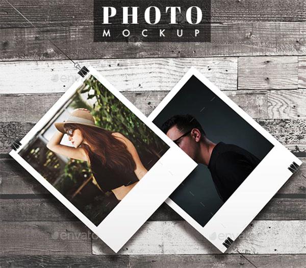 Photo Frame MockUp Design