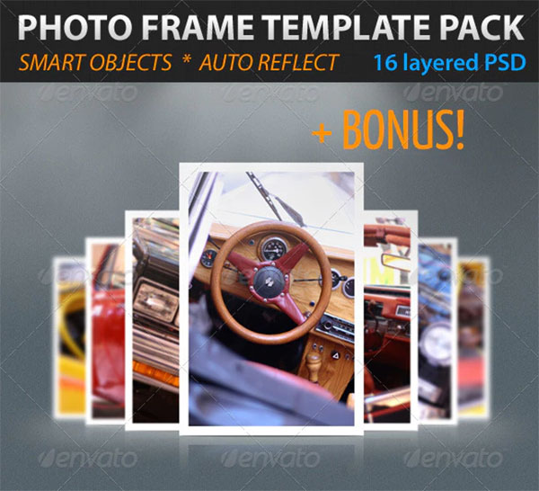 Photo Frame Template Pack
