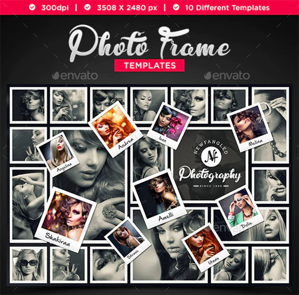 Photo Frame Templates Design