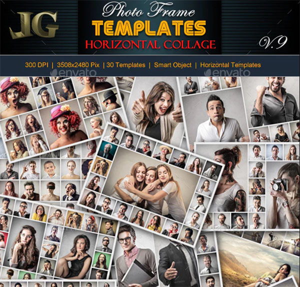 Photo Frame Templates PSD