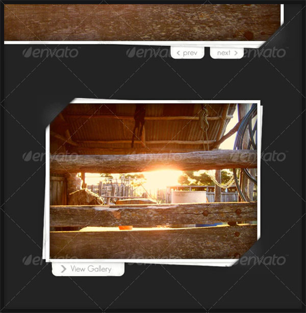 Photo Frame for Image Gallery