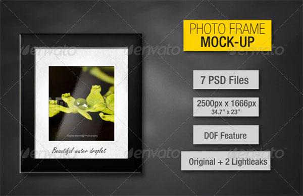 Photo Frames Mockup Design